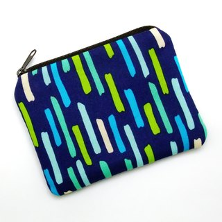 Zipper pouch / coin purse (padded) (ZS-196)
