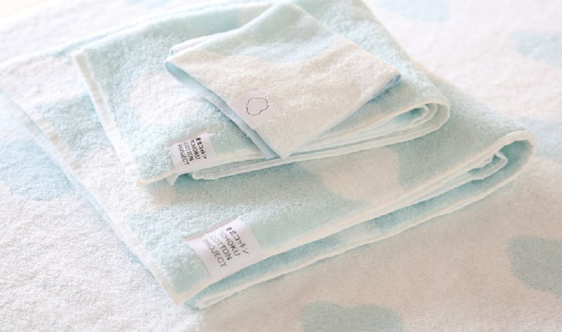 Earth tree fair trade fair trade--made in Japan organic cotton cloud wash towel