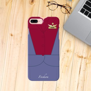 Personalised China Airlines Air Hostess / Fight Attendant iPhone Samsung Case