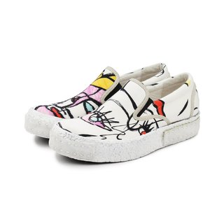 Skater M1160 White Graffiti sneakers