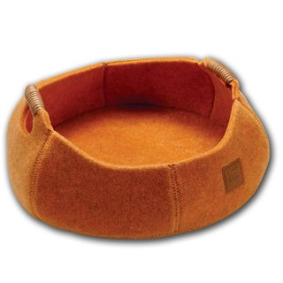 Lifeapp Cat Basket BASKET BOWL_California Orange