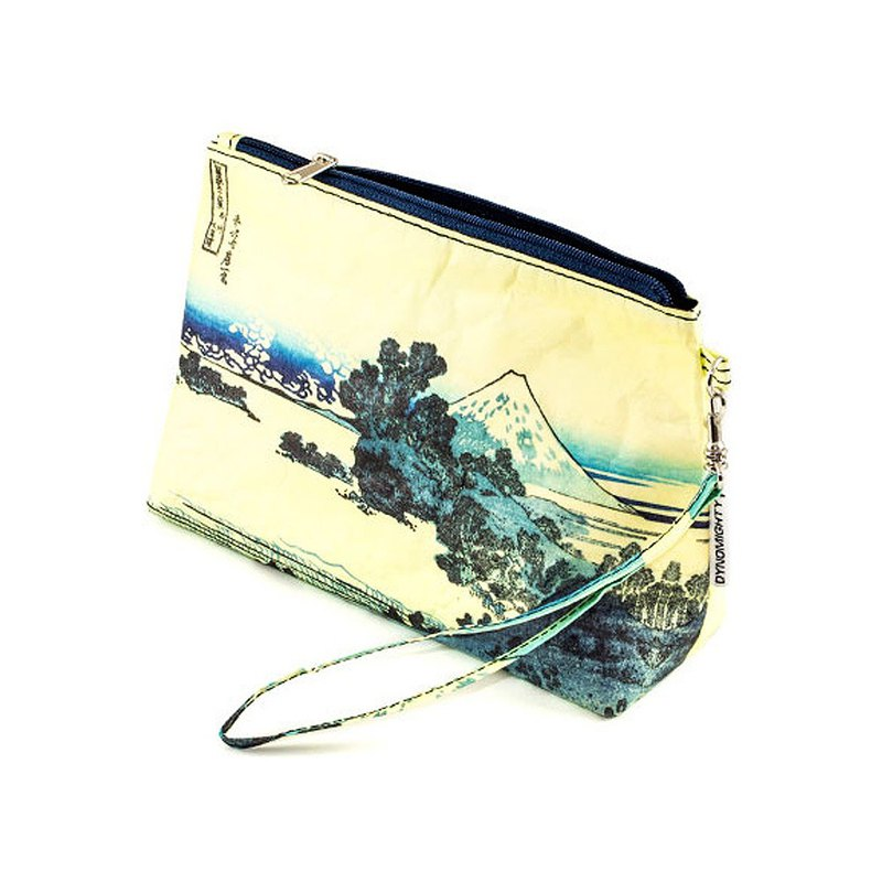 Mighty Wristlet Clutch - Hakusai