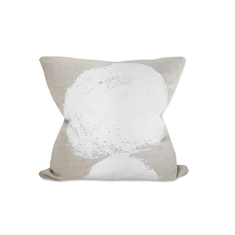 Nordic style designer – pillowcase VOLCANO CUSHION COVER, WHITE