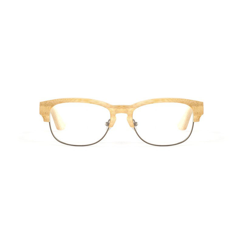 Limit amount of bamboo light coffee micro cat eyebrow frame glasses