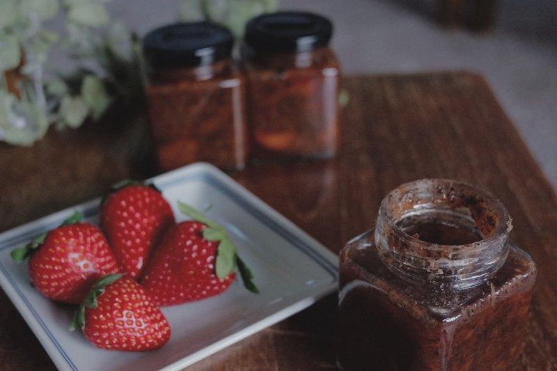 期間限定 草莓伯爵茶果醬