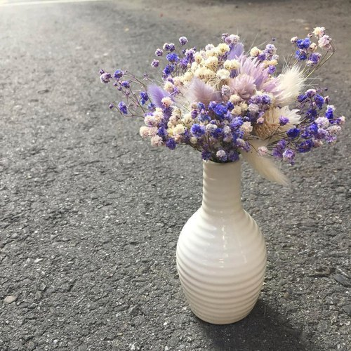 //Fantasy Forest // Purple dry bouquet / store decoration office small things shooting props