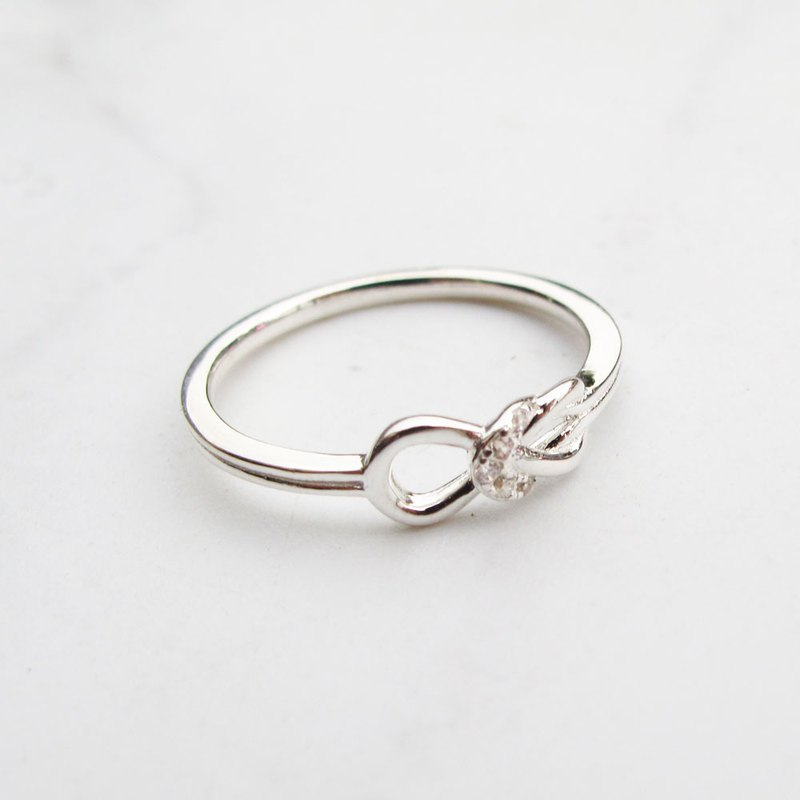 Bigman Taipa [exclusive selection] infinite diamond × sterling silver ring can be the tail ring