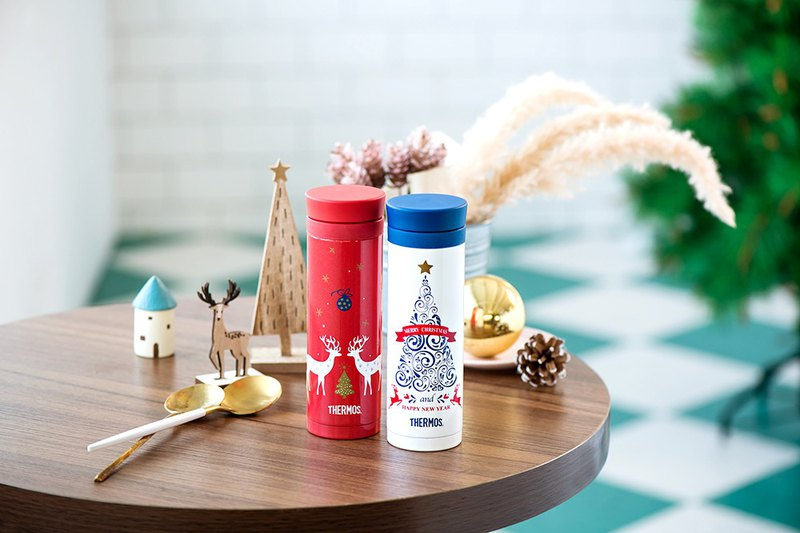 Christmas limited edition stainless steel vacuum flask 300ml