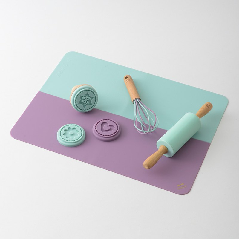 Japanese BRUNO hand made DIY biscuit kit group (blue)