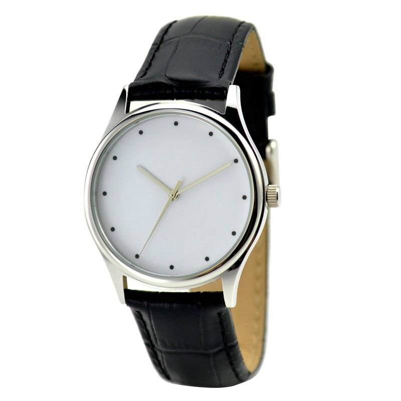 Minimalist Watch Dots - Unisex - Free Shipping Worldwide