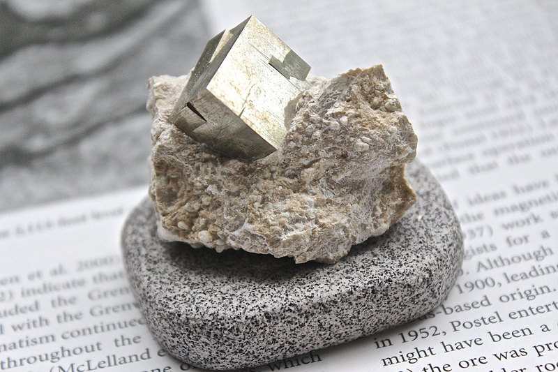Spanish Pyrite / Fool Gold (with base) ▲