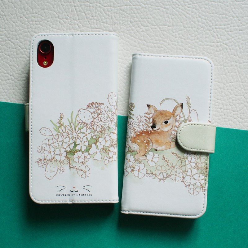Notebook Type Smartphone Case for iPhone, Break of Fawn