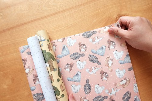 Reusable Wrapping papers (Collection 8) : Set of 3