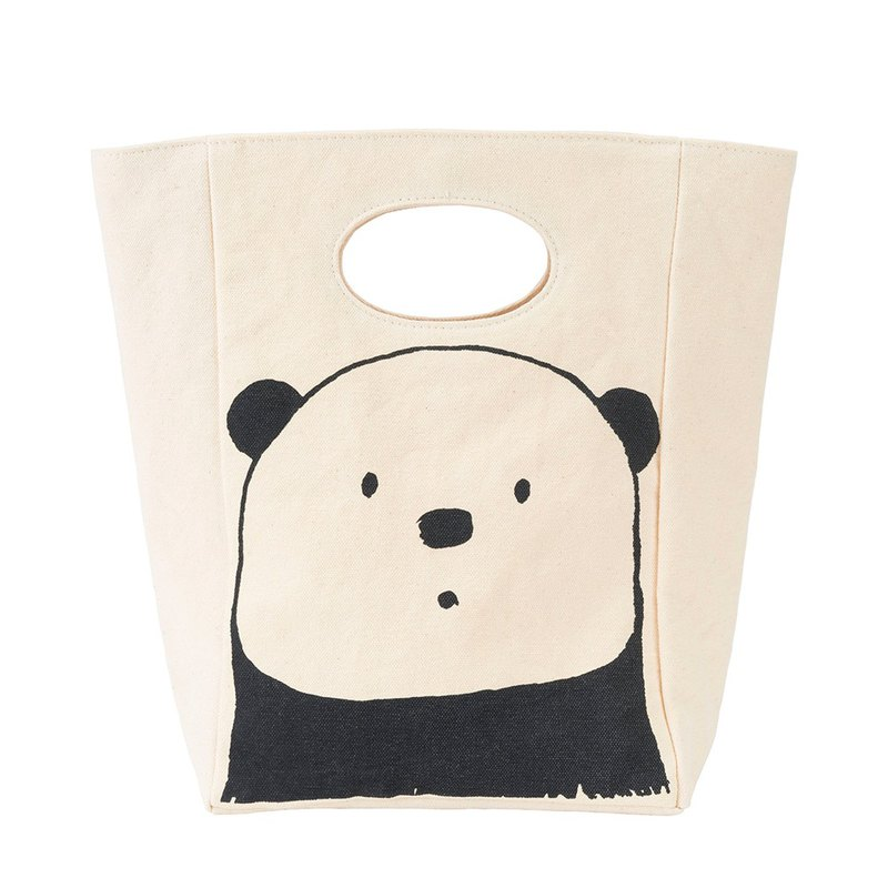 Canada fluff dull bear organic cotton with handbag / handbag / tote