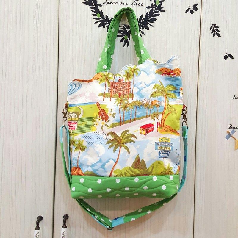 【碧海藍天hawaii】側背 手提 好用包