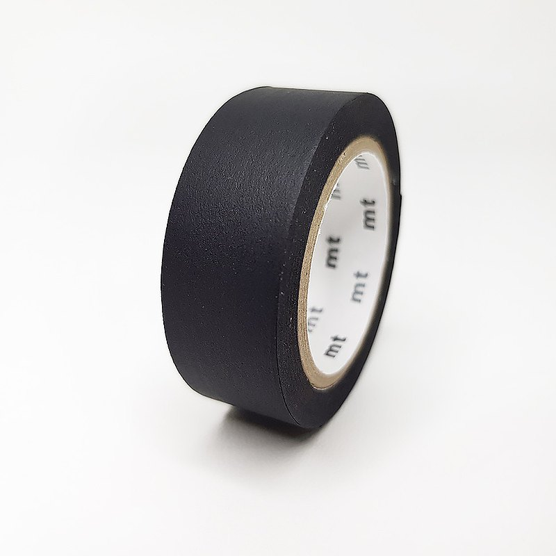mt and paper tape Basic 【plain - black (MT01P207)】
