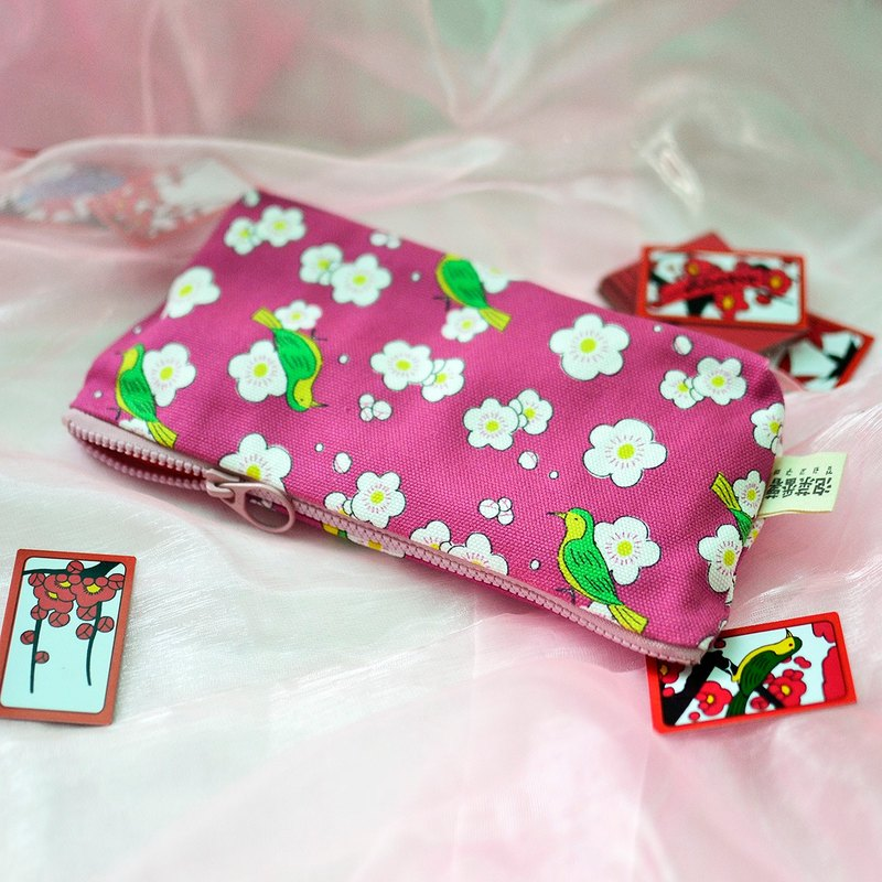 Popular series of stationery bags _ Korean flower brand _ Peach plum