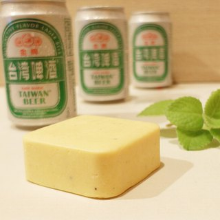 Gold beer super smooth shampoo soap is refreshing and soft, good to wash, not sticky, washable, wash and bath