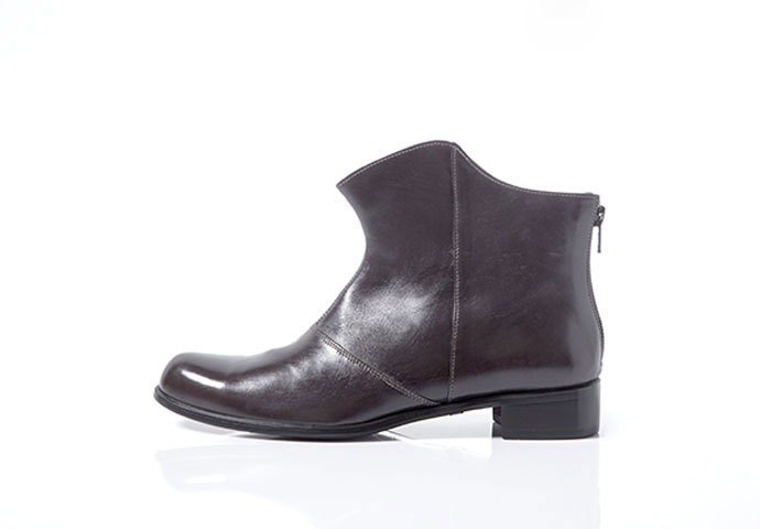 NOUR boot - shadow boot - Charcoal Grey