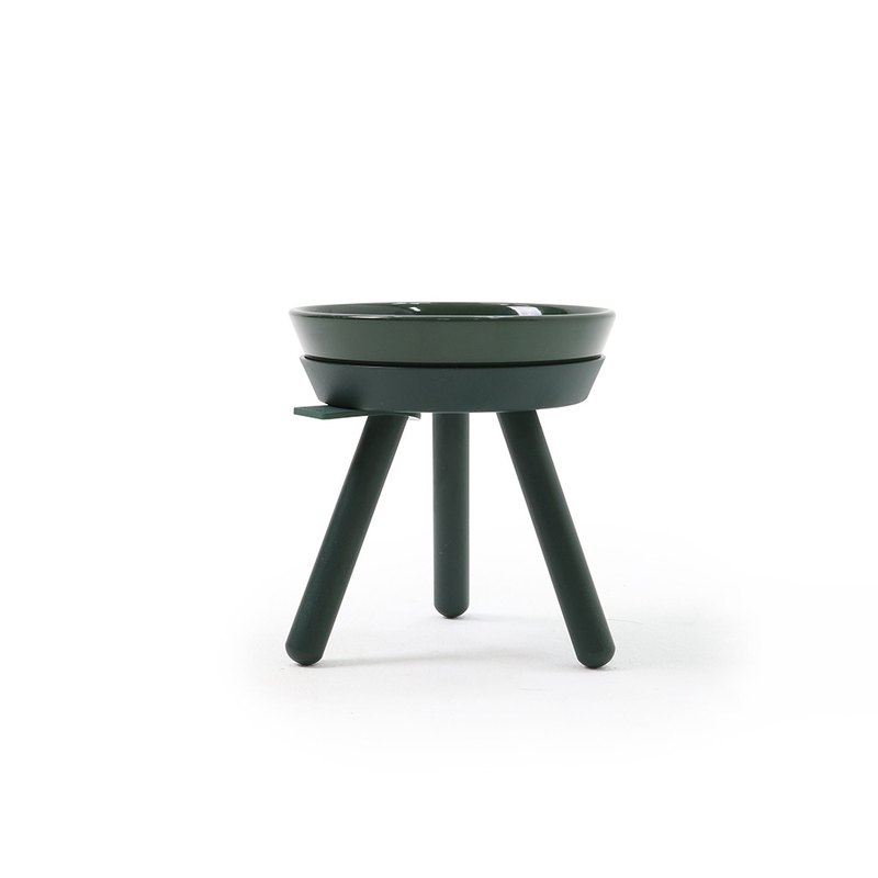 Oreo Table High Dish Set - Dark Green