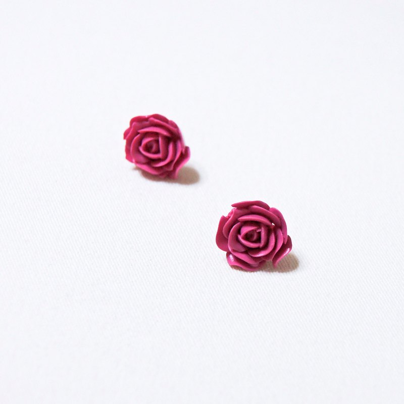 French romantic. Rose. Rose Ear