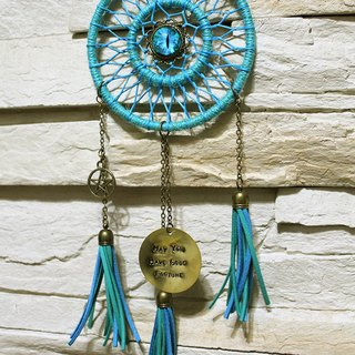 Cat eye cat eye guardian. Dream Catcher - tassel message copper