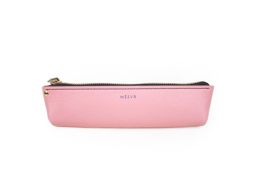 [ALRAN]|Pencil Case S|Zipper Pouch Silver Kraft