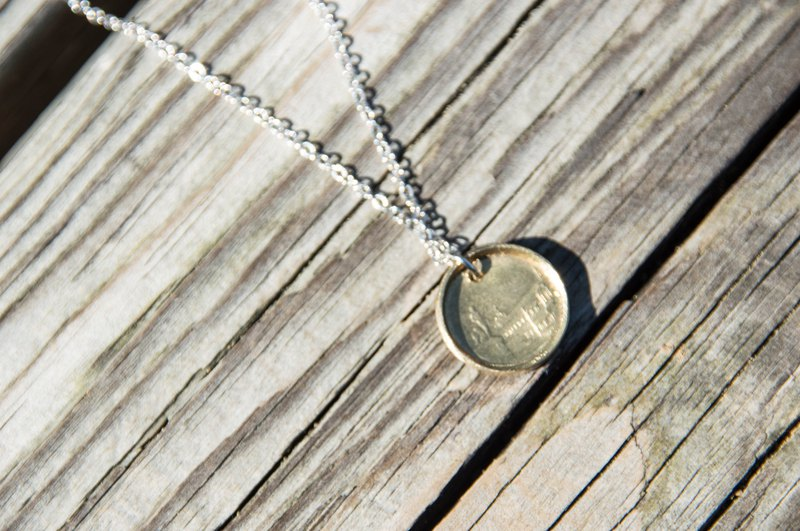 Handmade Coin Necklace | Italy