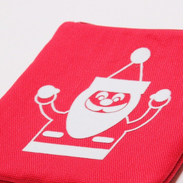 Santa Claus zip bag