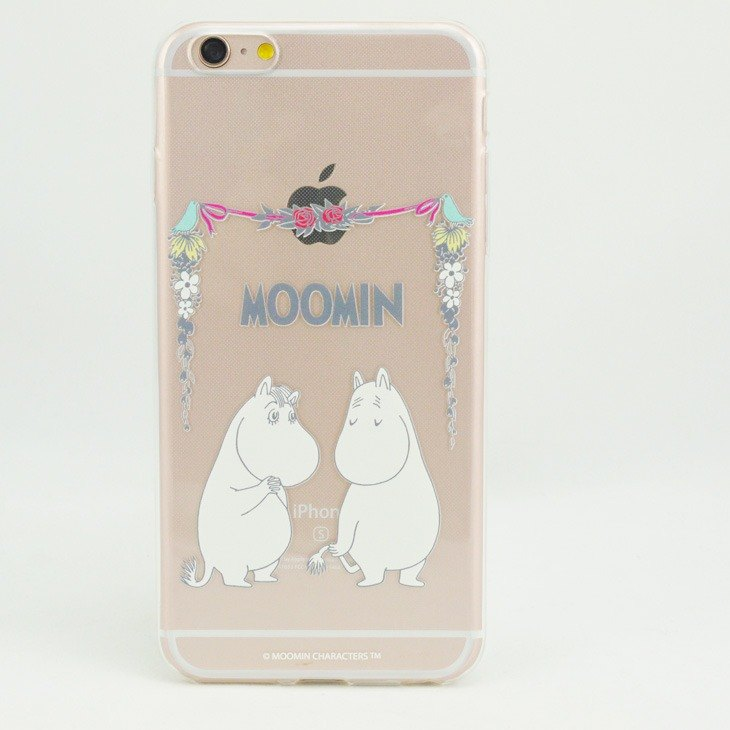 "Moomin Moomin genuine authority -TPU phone case: [love] ""iPhone / Samsung / HTC / ASUS / Sony / LG / millet"""