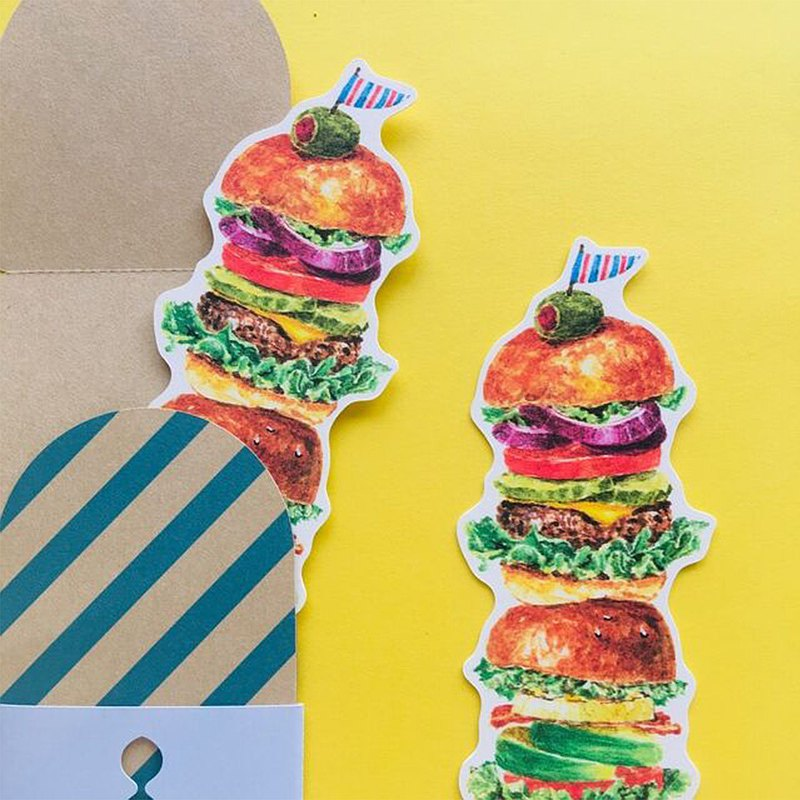 Greeting card/Tall burger