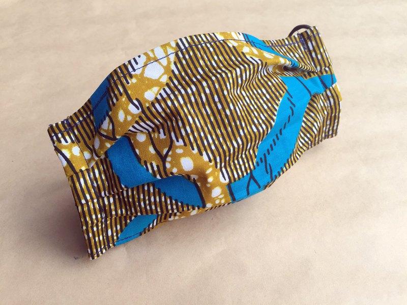非洲花布口罩套-爵士圈圈
