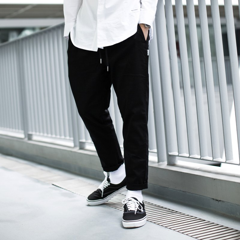 Tapered Chino Pants/jogger pants/unisex/clothing