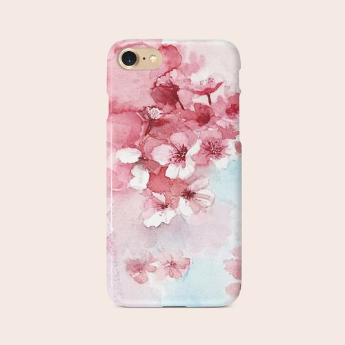 "Phone Case ""Cherry Blossom 2"" design by Little 149 A006CC002"