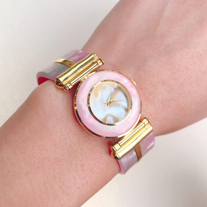 【Lost And Find】Natural Mother of pearl watch