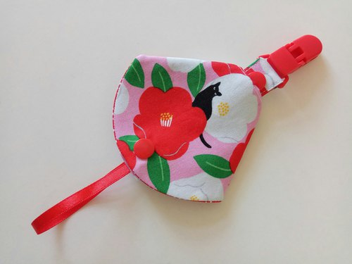 Cat & Flower Moon Gift Combo Pacifier < Pacifier Dust Bag + Pacifier Clips > Dual Function