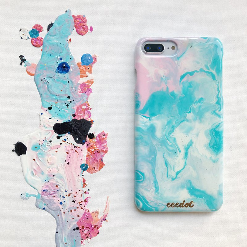 IPHONE 7+/8+ | Candy Cloud | Hand-painted phone case