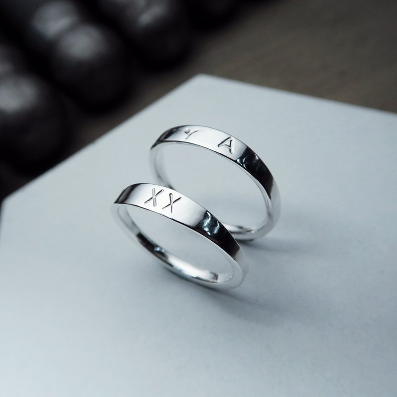 ART64 Taipei · Exclusive Limited Rome Mark Handmade Silver Ring Flash Sale Limited