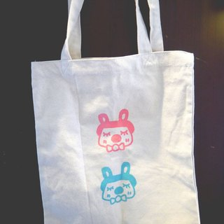 | Made in Taiwan ● manual serigraphy | Bunny Shoulder Bag