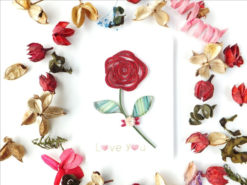 Hand made decorative cards-Roses
