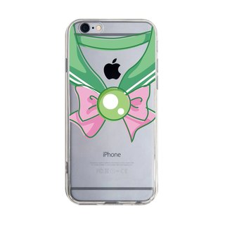 Mariner Uniform Pink Light Green iPhone X 8 7 6s Plus 5s Samsung S8 S9 Mobile Shell