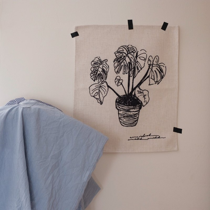 Plant4 cloth poster