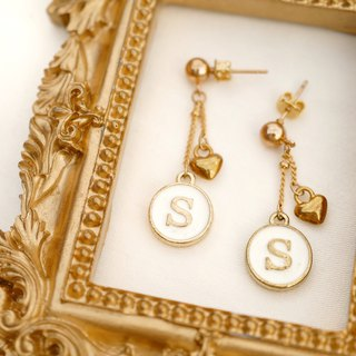 Sheryl's Handmade - Customized Alphabet Earrings