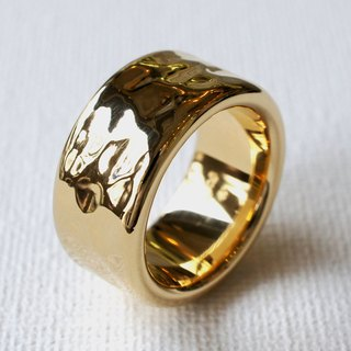 Wide Lanvin Consequences ring
