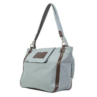 "Amore Aijiadanni ""Her Change · City Tottenham"" portable shoulder back with three gray bag A4 package"