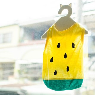 【Xiaoyu watermelon】 For Dear hairy children cool summer - cats and dogs clothes