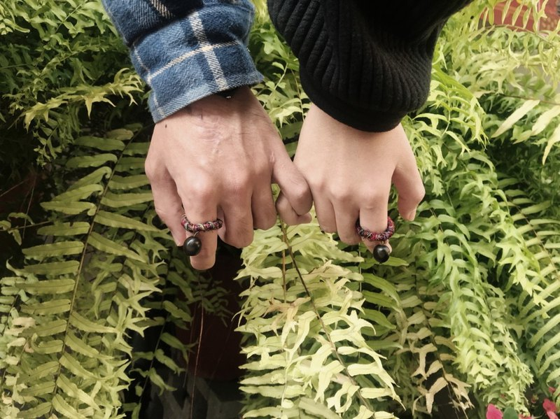 Sapindus < Seed Rings > Botanical Jewelry
