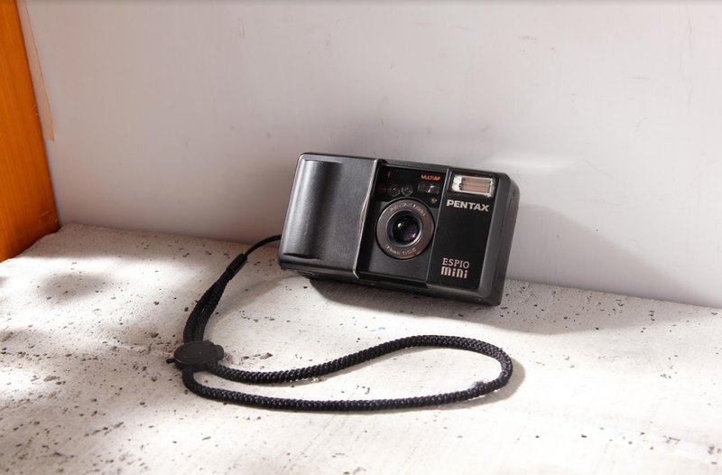 [Sunday antique camera] Pentax Espio mini 32mm F3.5 film point-and-shoot camera black