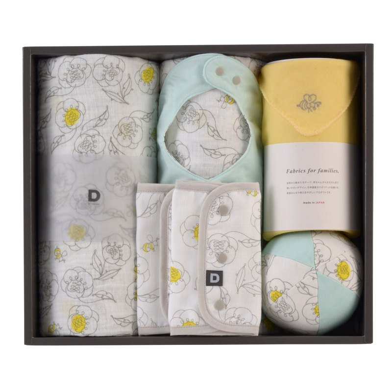 D BY DADWAY Japan newborn gift box - honey flower