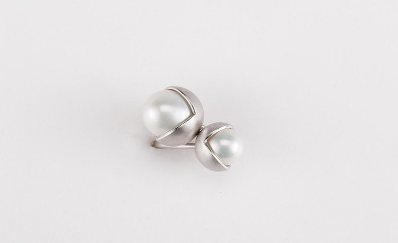 Fruity Double Pearl Ring